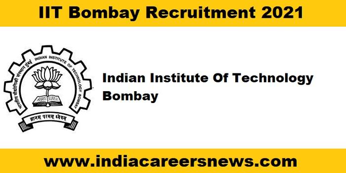 IIT Bombay Recruitment