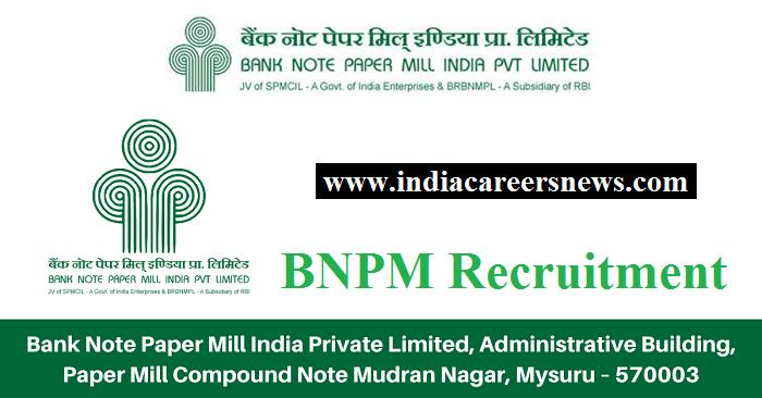 BNPM Recruitment