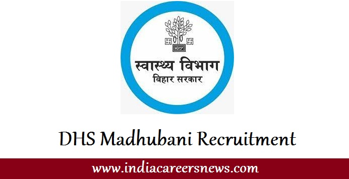 DHS Madhubani Recruitment