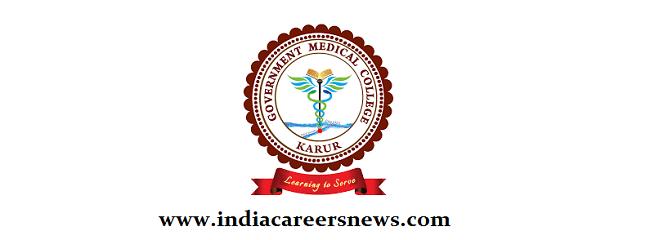 GMC Karur Recruitment