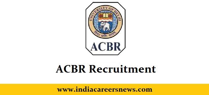 ACBR Recruitment